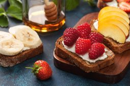 Raspberry and Banana French Toast